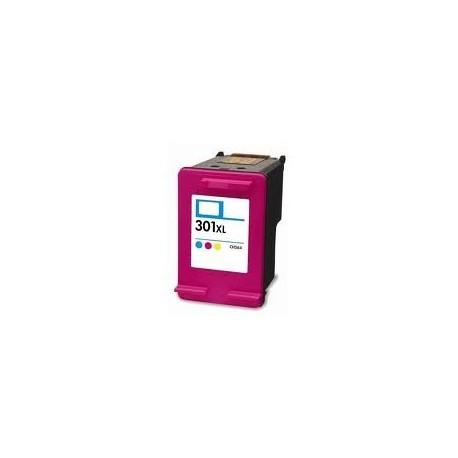 Cartouche couleur générique pour HP deskjet 1050 / 2050 / 3050 ... (N°301XL)