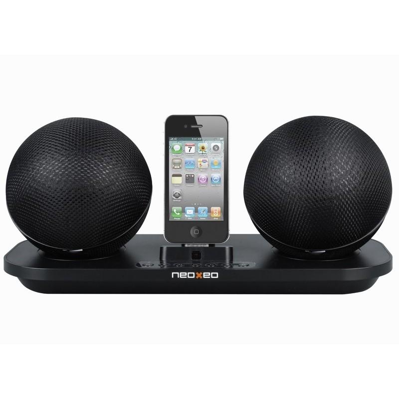 neoxeo dock 3200 wireless enceintes sans fil pour iphone. Black Bedroom Furniture Sets. Home Design Ideas
