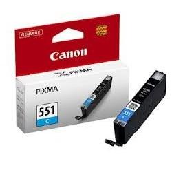 Cartouche cyan Canon CLI-551C pour Pixma MG5450 / MG6350...