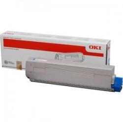Toner cyan Oki pour C831 / C841