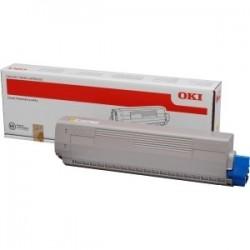 Toner jaune Oki pour C831 / C841