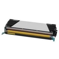 Toner jaune générique pour Lexmark C734 / C736 / X734 / X736 / X738