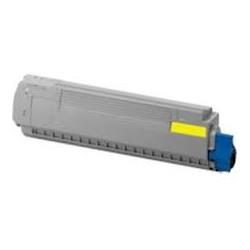 Toner jaune générique pour Oki MC860dn / MC860cdtn / MC860cdxn