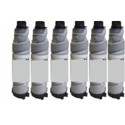 6 Toners Noirs génériques pour Ricoh Type 2205D