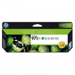 Cartouche cyan haute capacité HP pour Officejet Pro X476dw ...(N°971XL)