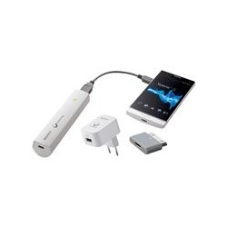 Chargeur nomade USB Sony 2000mAh 1Usb 1sm AC/USB pour Sony / iPhone ...