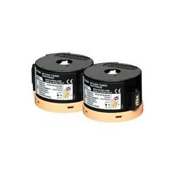 Pack de 2 toners Laser Epson pour WorkForce Série AL-M200dn / dw ...