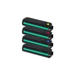 Pack de 4 toners génériques pour Samsung CLP 415...