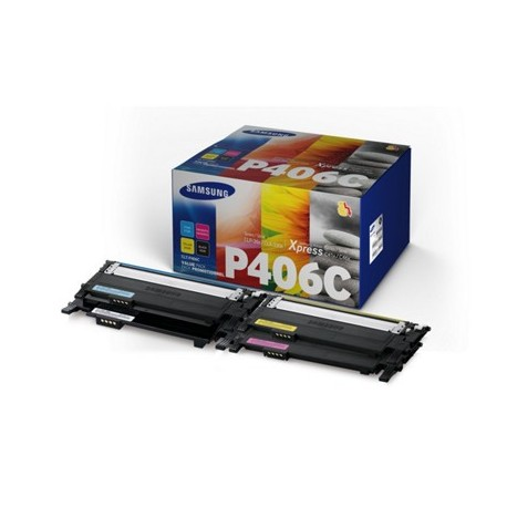 Pack de 4 toners Samsung pour CLP360 / CLP365 / CLX3300 ...(SU375A)