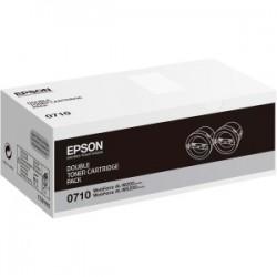 Lot de 2 toners Laser Epson pour WorkForce Série AL-M200dn / dw ...