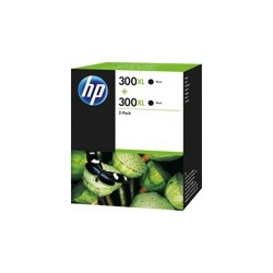 Pack de 2 Cartouches noires HP pour deskjet D2560 ... (N°300XL)