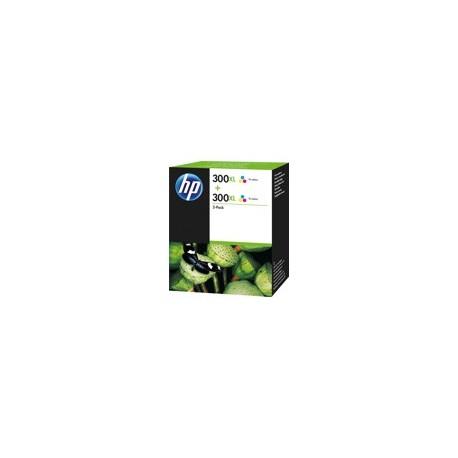 Pack de 2 Cartouches couleurs HP pour deskjet D2560 / F4280 (N°300XL)