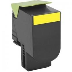 Toner jaune générique haute capacité Lexmark pour CS310 / CS410 / CS510 .... (702HY)