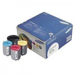 RAINBOW Pack 4 couleurs ( Noir, Cyan, Magenta, Jaune ) pour Samsung CLP 300 / CLX 2160.....