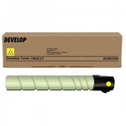 Toner jaune Develop pour Ineo +224/ 284/ 364 (TN321Y)