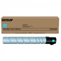 Toner cyan Develop pour Ineo +224/ 284/ 364 (TN321C)