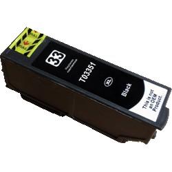 Cartouche Noire générique Haute Capacité pour Epson Expression Premium XP-630 / XP-830 ... (n°33XL - orange)