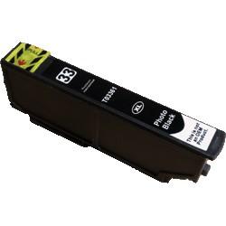 Cartouche Noire photo générique Haute Capacité pour Epson Expression Premium XP-630 / XP-830 ... (n°33XL - orange)