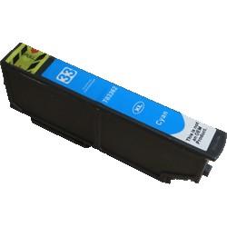 Cartouche Cyan Epson Haute Capacité pour Expression Premium XP-630 / XP-830  ... (n°33XL - orange)