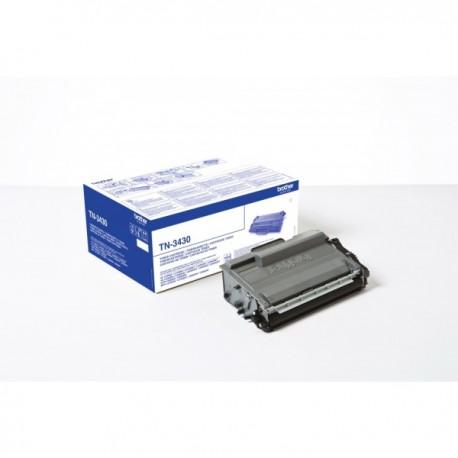 Toner Brother pour DCP-L5500DN/ L5000/ L6600.. (TN3430)
