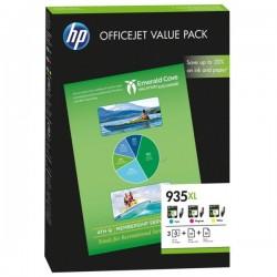 Pack 3 cartouches d'encre (cyan, magenta, jaune) pour HP Office Jet Pro 6230 / 6830 .....(N°935XL)