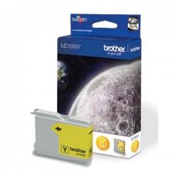 Cartouche d'encre jaune Brother pour DCP130C / DCP330C / DCP750CW (LC1000Y)