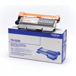 Toner noir haute capacité Brother pour HL2240d / 2250dn / 2270dw (TN2220)