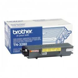 Toner Brother haute capacité pour HL 5340D / 5350DN / 5350DNLT / 5380DN (TN3280)