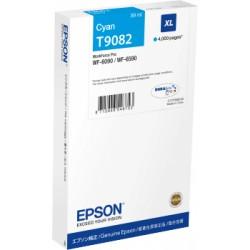 Cartouche Cyan XL Epson  Haute Capacité pour WorkForce pro WF 6590 / WF 6090 (T9072)