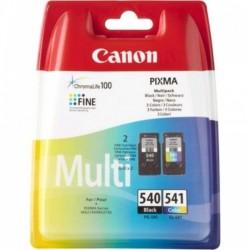 Multipack noire+couleur Canon pour Pixma MG2150 / MG3150...(PG-540/CL-541)