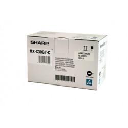 Toner cyan Sharp pour copieur MX-C250F/ C300P (MXC30GTC)