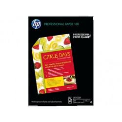 50 feuilles Papier Jet d'encre Professionnel HP - 180 gr - A4 210 x 297 mm - finition : glacé