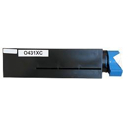 Toner noir générique pour Oki B411 / B431 / B461 / B471 /...