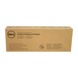 Toner jaune extra haute capacité DELL pour C3765 / C3760 ...
