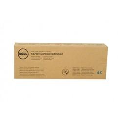 Toner cyan extra haute capacité DELL pour C3765 / C3760 ...