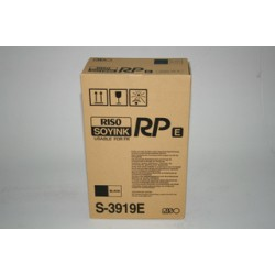 2 * Cartouches d'encre noire Riso RP3100 / RP3150ep (S-3919)