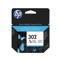 Cartouche d'encre Couleur pour HP officejet 3830 (N°302)