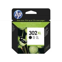 Cartouche d'encre Noire Haute capacité pour HP officejet 3830 (N°302XL)