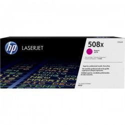 Toner Magenta HP haute capacité pour Color LaserJet Enterprise M552 / M553.... (508X)