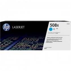 Toner Cyan HP haute capacité pour Color LaserJet Enterprise M552 / M553.... (508X)