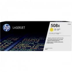 Toner Jaune HP haute capacité pour Color LaserJet Enterprise M552 / M553.... (508X)