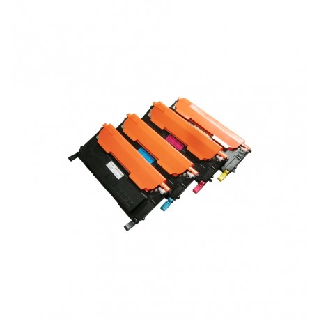 Pack de 4 toners génériques pour Samsung CLP360 / CLP365 / CLX3300 ...