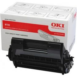Toner noir Oki pour imprimante B720...