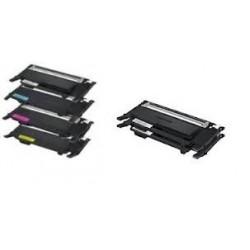 Pack de 6 toners génériques pour Samsung pour CLP320 / 325 / CLX3185 (3N+1C+1M+1J)