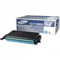 Toner cyan Samsung pour CLP-610ND / 660D / 660ND (ST880A)