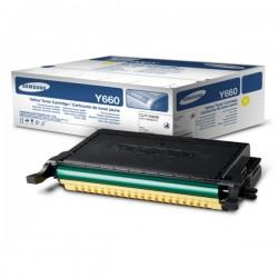 Toner jaune Samsung pour CLP-610ND / 660D / 660ND (ST953A)