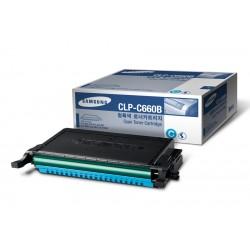 Toner cyan Samsung pour CLP-610ND / 660D / 660ND haute capacité (ST885A)