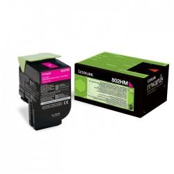 Toner Lexmark magenta pour CX410 / CX510...  (802HM)