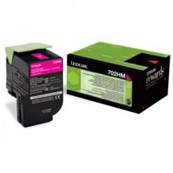 Toner magenta haute capacité Lexmark pour CS310 / CS410 / CS510 .... (702HM)