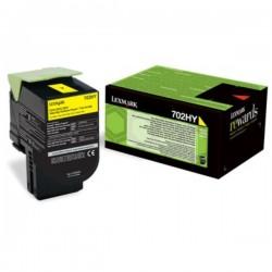Toner jaune haute capacité Lexmark pour CS310 / CS410 / CS510 .... (702HY)